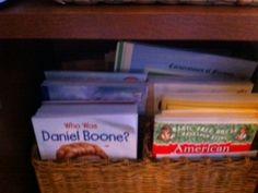 Big Bro's nonfiction book box...