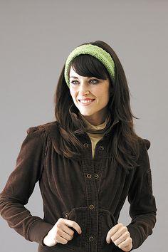 ear warmer/headband with the knook