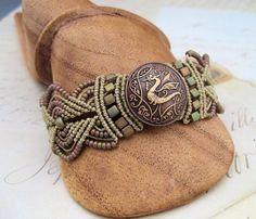 SWEET!!  Beaded Micro-Macrame Jewelry by Knot Just Macrame