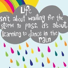 inspir quot, wall quotes, dance, rain, classroom quot
