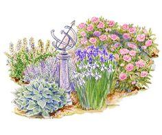 Downloadable Garden Plans that use Heirloom Plants