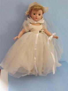 1950s Madame Alexander Bride doll