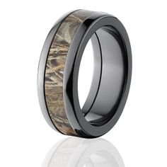men's camo wedding ring - Amazon.com