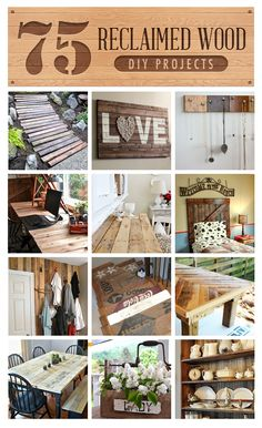 75 sensational reclaimed wood projects!