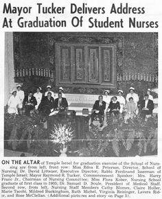 Example of Nurses' Graduation Ceremonies. More