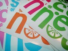 Vinyl Cutting Fonts: Clean Cut, No Jagged Edges & Easy Weeding for Cricut, Silhouette SD & ALL Vinyl Cutting Machines