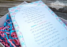 """""""We're Expecting!"""" Boxed Announcements by Matinae Design Studio."""