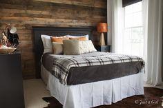 Fall bedroom