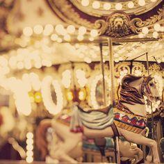 magic fairground horses