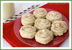 I Love Eggnog Cookies