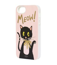 Rifle Paper Co. - Meow iPhone 5 + 5s Case - INLAY