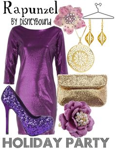 Purple...Love...especially the shoes!