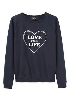 fashion palett, heart sweatshirt, ninja style