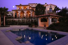 Spanish Home Pool