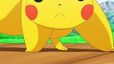Pokemon ~~ Pikachu kisses you! OH MY GOSH. THAT'S SO FREAKING CUTE.