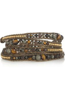 bead, wrap bracelets, chan luu, goldvermeil, fashion inspir