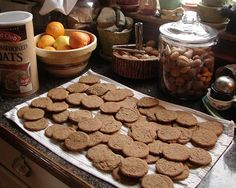 Molasses Cookies for Christmas, via Flickr.