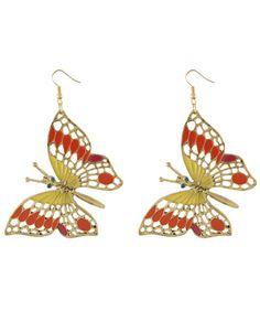 Miso Butterfly Drop Earrings