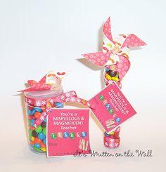 Teacher or Volunteer appreciation gift ideas