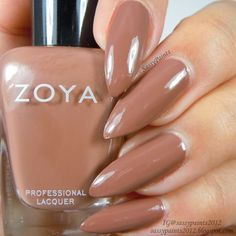 Sassy Paints: Zoya Chanelle from the Naturel Deux Collection