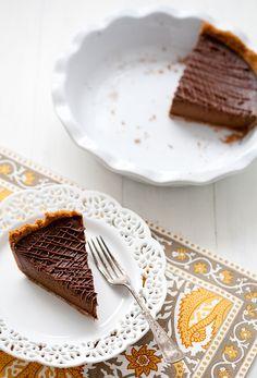 triple-chocolate pumpkin pie