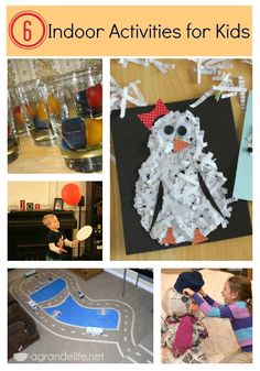 6 #indoor #activities for kids