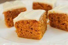Pumpkin Bars Recipe - Average Betty