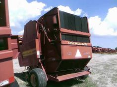 New Holland 660 hay baler salvaged for used parts. Millions of new, rebuilt and used parts in our 7 huge salvage yards. For parts call 877-530-4430 or http://www.TractorPartsASAP.com