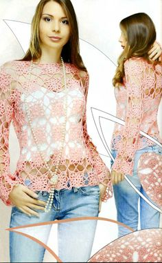 crochet tunic patterns - Google Search