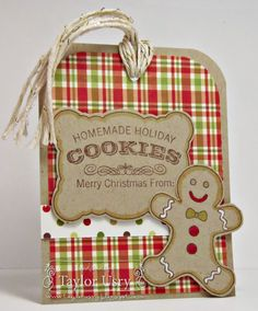 Gingerbread Greetings by stagccva - Cards and Paper Crafts at Splitcoaststampers
