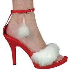 Sexy Miss Santa Shoe