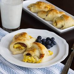 Egg, Bacon, and Cheese Crescents