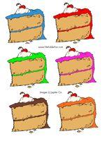 Cake File Folder Game