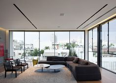 Tel Aviv Townhouse by Pitsou Kedem #interiors