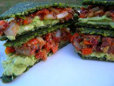 Kale-Monsterella Flatbread