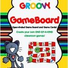 Groovy Kitty Game Board is an open-ended game board with a Groovy Kitty theme that can be used with any concept or subject. Comes with the game board and...