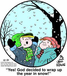 Family Circus Cartoon for Dec/31/2012