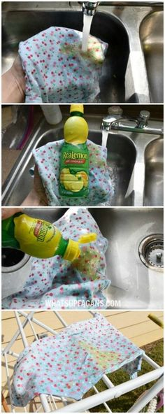 DIY green free laund