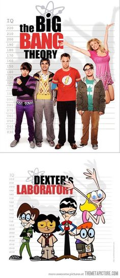 The Big Bang Theory or Dexter's Laboratory
