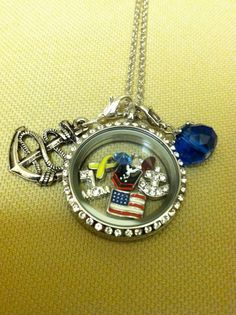 Military lockets with a 5% discount to all military and their families.  Learn more.  (Find more on Pinterest too at http://pinterest.com/StoryLockets/)