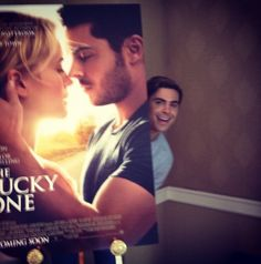 Lovee this book! :) #zacefron #book #theluckyone