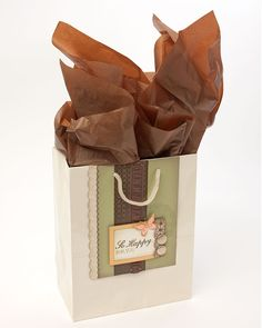 Inspiration for creating your own gift bag from #CTMH!