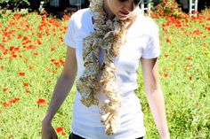 TUTORIAL: Summer Scarf | MADE