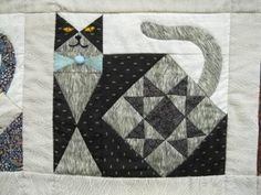 quilt cat, quilt block, ann quilt, cat quilt