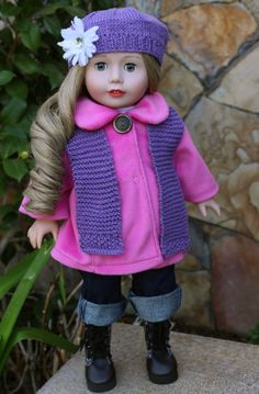 Get Hats, Scarves, Coats, Jeans, Boots that fit American Girl Dolls at www.harmonyclubdolls.com