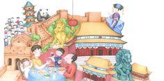 Praatplaat China (Chinese muur)