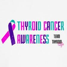 Thyroid Cancer Awareness Month starts September 1.  Get your t-shirt today!