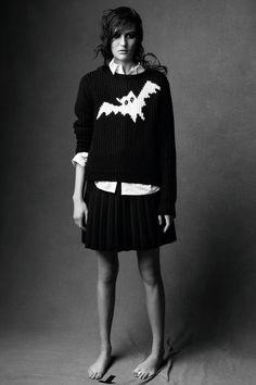 J.W. Anderson bat sweater. Photography: Scott Trindle