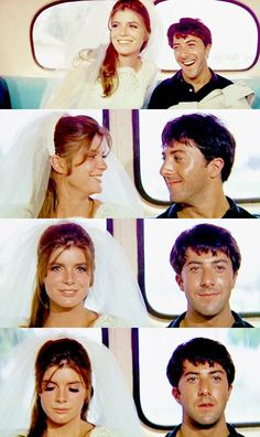 Katherine Ross and Dustin Hoffman - 'The Graduate'