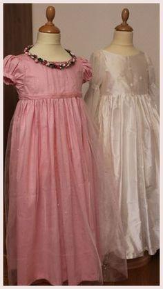 Robe de princesse cousue main